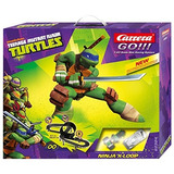 Juguete Juego De Carreras Carrera Go Tortugas Ninja X-loop