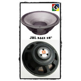 Combo De 4 Parlantes 18 Jbl 2441h Made In Usa