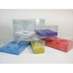 Cajas Transparentes Acetato Armables Mica, Pvc