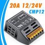 Controlador De Carga P/ Painel Solar 12/24v 20a