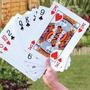 Plástico Poker Plus Tamaño Buena Jugando A Las Cartas