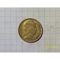 Argentina 20 Centavos 1942 Error (ver Bajo Fecha)