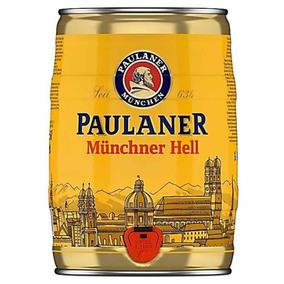 Barril Cerveja Paulaner Munchner Hell 5l - Pronta Entrega