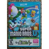 New Super Mario Bros. U + New Super Luigi U Wii U Frte R$10