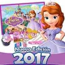 Mega Kit Imprimible Princesita Sofia 100% Editable, Fiesta