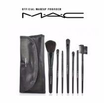 Set O Estuche De Brochas Y Pinceles Mac De 7 Maquillaje