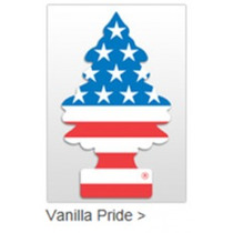 Aromatizante Automotivo Little Trees Vanilla Pride