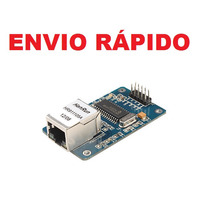Módulo Arduíno Ethernet Enc28j60 Lan Network Pic