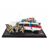 Cazafantasmas Ghostbusters Ecto-1 Hot Wheels Elite Nuevo !!!
