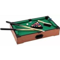 Mini Bilhar Barato Sinuca Snooker De Brinquedo Mesa 51 X 31