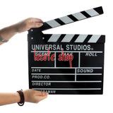 Claqueta 30x28 Cine Pizarra Director Película Oscares Fiesta