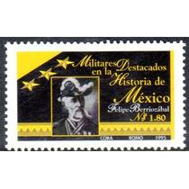 Timbre Postal Militares Destacados En La Historia Mexico1995