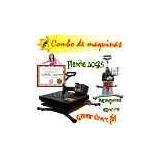 Maquina De Estampado, 30x25 Franelas, Gorras,