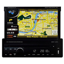 Dvd Retrátil Napoli 7968 Gps,tv Digital , Bluetooth + Cam/ré