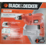 Taladro Percutor 500w 3/8 (10mm) Black&decker.garant 2 Años