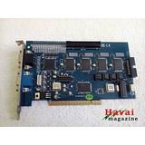 Placa Captura 16/32 Câmeras 4 Áudio Geovision Gv800 64 Bits