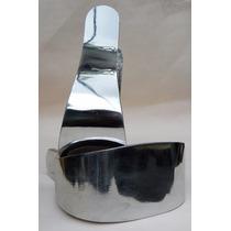 Estribos De Aluminio Pulido P/montura Texana Silla De Montar