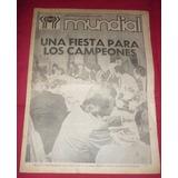 Suple Mundial 78 Diario Clarin Fiesta Argentina Campeon 1978