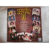 Lp Sertão 90, Disco De Vinil Coletânea, Artistas Variados