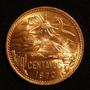 Monedas 20 Centavos Teotihuacan Condición Bu Lote De 5