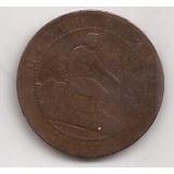 España Antigua Moneda De 5 Centimos Año 1870