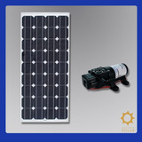 Kit Bomba Dágua Solar Com Painél Fotovoltaico 85w ( Placa )