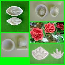 Kit D Frisadores D Eva Flor De Rosa M