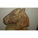 Cabeça De Cavalo Carrocel Século Xix Inglês