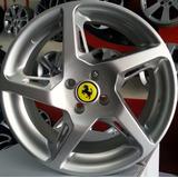 Rodas Ferrari Rocket Aro 17 - Palio Gol Celta Corsa Clio
