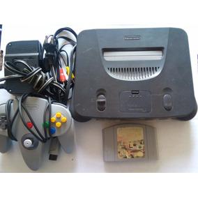 Consola Nintendo 64 Control Cables Juego N64 Trqs