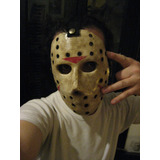 Mascara Rigida Jason Vorhees Martes 13, Halloween Disfraz