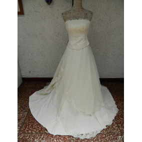 Vendo vestido de novia modelo glenda