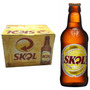Cerveja Skol Caixa Com 12 Unidades De 300ml
