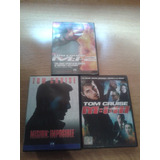 Dvd Lote X 3 Mision Imposible Widescreen
