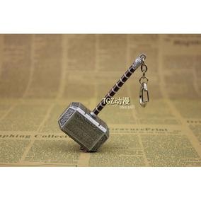 Chaveiro Martelo Do Thor Mjölnir De Metal Importado