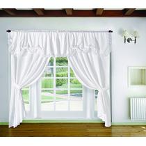 J. De Cortinas C/ Faldon Listas Living Comedor Dormitorio!!!
