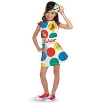 Traje De Disfraz Hasbro Juegos Twister Chicas,