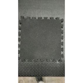 Tapete / Piso Gym / Gimnasio De Hule Reciclado De 50x50x8mm