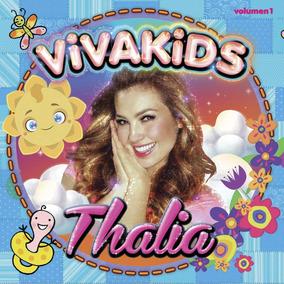 Thalia Viva Kids1 Cd+dvd Nuevo Cerrado 100 % Origi.en Stock