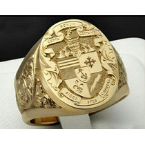 Anel Luxury Masculino Ouro18k (personalizados)