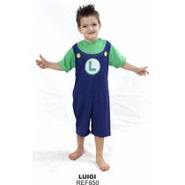 Fantasia Infantil Mario Ou Luiggi