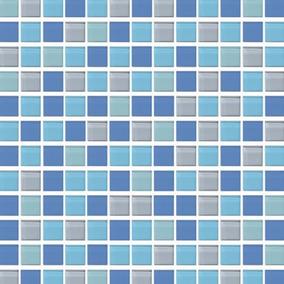 Azulejo Veneciano Azul Verde Cenefas Albercas Baños Regadera