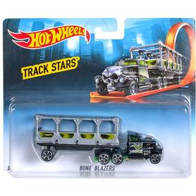 Hot Wheels Caminhão Velocidade Na Pista Bone Blazers Mattel