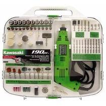 Kit Taladro Herramientas 190 Accesorios Kawasaki 840589
