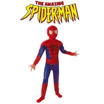 Disfraz Nuevo Super Heroe Hombre Araña Spiderman Marvel Nene
