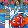 Kit Scrapbook Digital Procurando Nemo - Envio Rapido