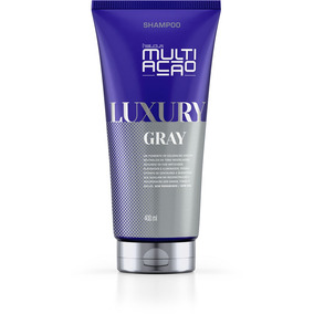 Shampoo Helcla Multiacao Luxury Gray 400ml