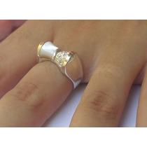 Anel Feminino Prata 950 Com Madrepérola Zircônias E Ouro