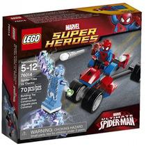Lego Marvel 76014 Trike Araña Vs Electro Entrega Metepec