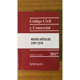 Código Civil Y Comercial De La Nación 2017 Zavalia - Pocket